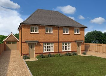 "Thumbnail 3 bed semi-detached house for sale in ""Malvern - Semi"" at Kimpton Road, Luton"