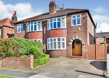 Thumbnail 3 bed semi-detached house for sale in Northgate Avenue, Macclesfield, Cheshire