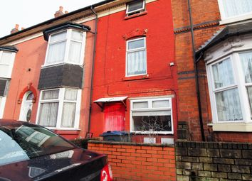 Thumbnail 1 bed terraced house for sale in Alfred Road, Handsworth, Birmingham