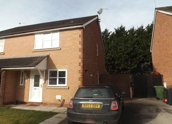 Thumbnail 2 bed semi-detached house for sale in Stirling Close, Winsford