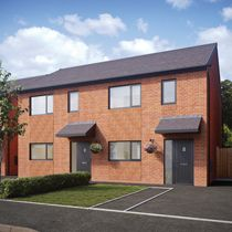 Thumbnail 3 bed semi-detached house for sale in The Fernley, Viennese Road, Belle Vale, Liverpool