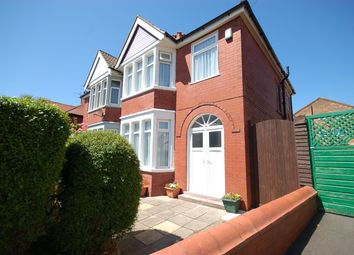 Thumbnail 3 bed semi-detached house for sale in Cambray Road, Blackpool, Lancashire