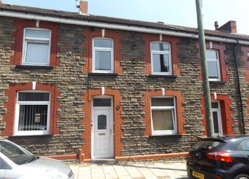 Thumbnail 4 bed terraced house for sale in Mary Street, Trethomas, Caerphilly