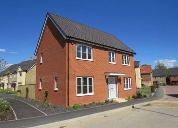 Thumbnail 4 bed detached house for sale in Serotine Avenue, Hethersett, Norwich