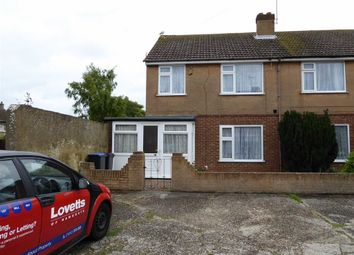 Thumbnail 3 bed semi-detached house for sale in Anthony Close, Ramsgate, Kent