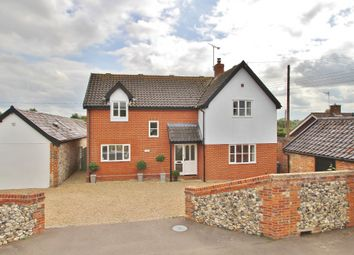 Thumbnail 4 bed detached house for sale in Sapiston, Bury St Edmunds, Suffolk