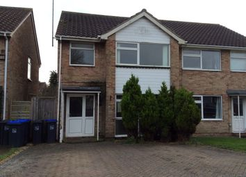 Thumbnail 3 bed semi-detached house to rent in The Lawns, Sompting, Lancing