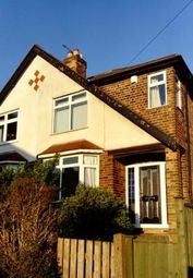 Thumbnail 3 bed semi-detached house to rent in Northcliffe Avenue, Mapperley, Nottingham, Nottinghamshire
