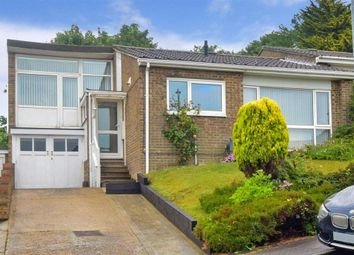 Thumbnail 3 bed semi-detached bungalow for sale in Seabrook Court, Seabrook, Hythe, Kent