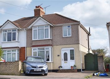 Thumbnail 3 bed semi-detached house for sale in Croft Road, Swindon