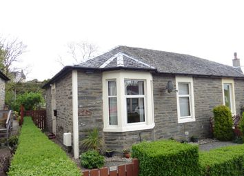 Thumbnail 2 bedroom semi-detached bungalow for sale in 28 Broomfield Drive, Dunoon