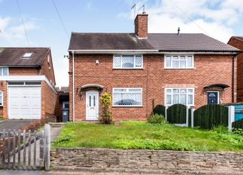 Thumbnail 2 bed semi-detached house for sale in Caddick Road, Great Barr, Birmingham