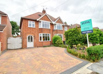 Thumbnail 4 bed semi-detached house for sale in Grasmere Road, Beeston, Nottingham