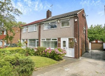 Thumbnail 3 bed semi-detached house for sale in Radnormere Drive, Cheadle Hulme, Cheadle, Greater Manchester