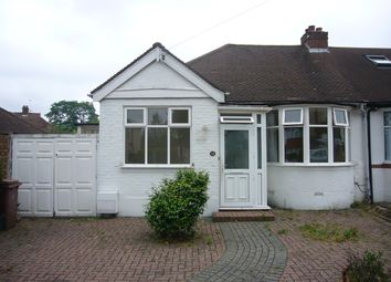 Thumbnail 2 bed bungalow to rent in St Clair Drive, Worcester Park