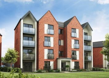 "Thumbnail 2 bed flat for sale in ""Foxton With Balcony"" at Carters Lane, Kiln Farm, Milton Keynes"