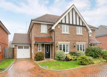 Thumbnail 4 bed semi-detached house to rent in Woodside Gardens, Marlow
