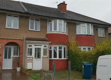 Thumbnail 3 bed terraced house to rent in Sandringham Crescent, Rayners Lane, Middlesex
