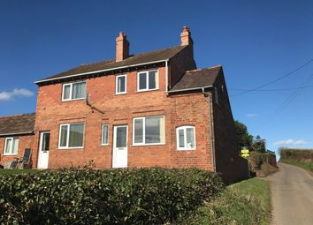 Thumbnail 2 bedroom semi-detached house to rent in High Ercall, Telford