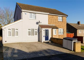Thumbnail 3 bed semi-detached house for sale in North Bank Close, Strood, Rochester, Kent