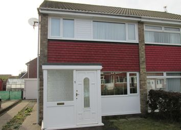 Thumbnail 3 bed semi-detached house to rent in Grebe Close, Blyth