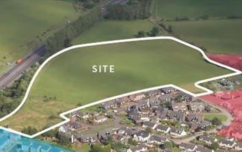 Thumbnail Land for sale in Ferniegair, Hamilton