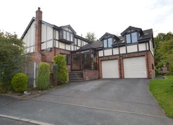 Thumbnail 4 bed detached house for sale in Coed Y Fron, Holywell