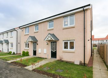 Thumbnail 3 bed semi-detached house for sale in Arran Marches, Musselburgh