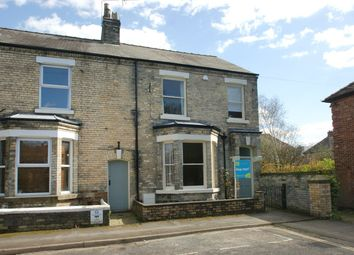 Thumbnail 3 bedroom end terrace house for sale in St Olaves Road, York