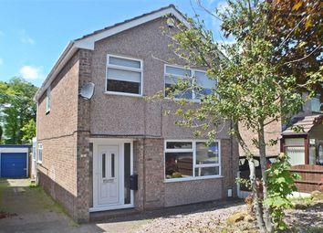 Thumbnail 4 bed detached house for sale in Lea Close, Noctorum, Prenton