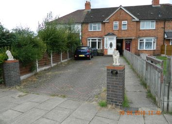 Thumbnail 2 bed terraced house to rent in Priory Road, Hall Green, Birmingham