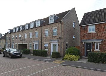 Thumbnail 3 bed town house for sale in Peasey Gardens, Grange Farm, Kesgrave, Ipswich