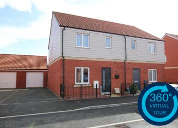 Thumbnail 3 bed semi-detached house to rent in Somerville Crescent, Greenacres, Exeter