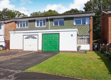 Thumbnail 3 bed semi-detached house for sale in Penns Wood Close, Dudley