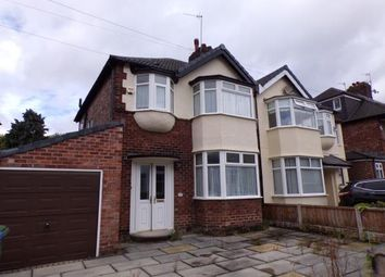 Thumbnail 3 bed semi-detached house for sale in Chalfont Road, Calderstones, Liverpool, Merseyside