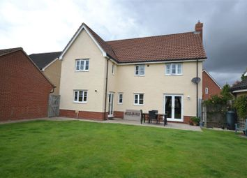 Thumbnail 4 bed detached house for sale in Pennycress Drive, Wymondham