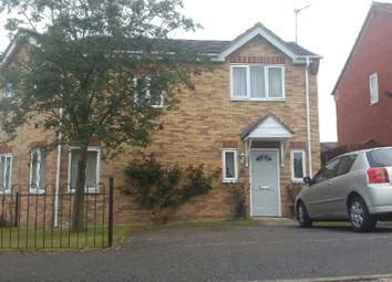 Thumbnail 2 bed semi-detached house to rent in Queensferry Parade, Glen Parva, Leicestershire