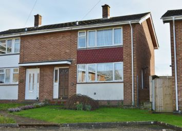 Thumbnail 3 bed semi-detached house for sale in Manor Crescent, Newport