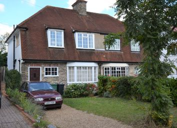 3 bed semi-detached house for sale in Ruden Way, Epsom Downs KT17