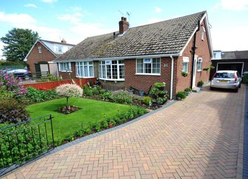 Thumbnail 3 bed semi-detached bungalow for sale in Shelley Close, Cayton, Scarborough