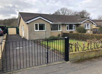 Thumbnail 2 bed semi-detached bungalow for sale in Daleview Grove, Long Lee, West Yorkshire