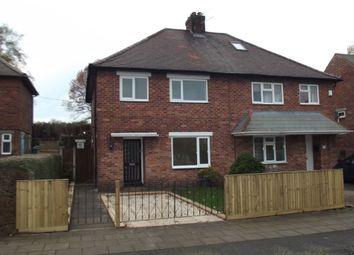Thumbnail 3 bedroom semi-detached house to rent in Plumb Road, Hucknall, Nottingham