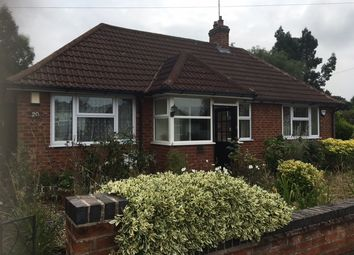 Thumbnail 2 bed detached bungalow to rent in Barbara Avenue, Kirby Muxloe, Leicester