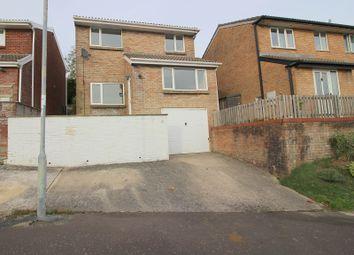Thumbnail 3 bed detached house for sale in The Woodlands, Brackla, Bridgend.
