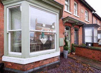 Thumbnail 4 bed terraced house for sale in Ashbourne Road, Leek, Staffordshire