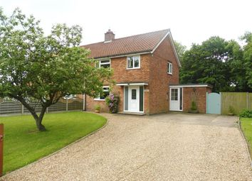 Thumbnail 3 bedroom semi-detached house to rent in Coles Common, Pulham Market, Diss