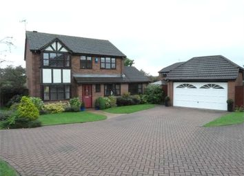 Thumbnail 4 bed detached house for sale in Pear Tree Close, Lutterworth
