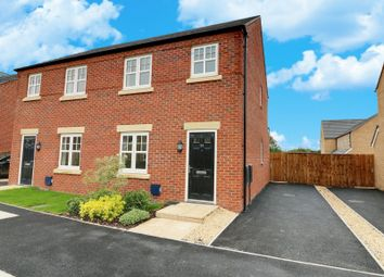Thumbnail 3 bed semi-detached house for sale in Bay Willow Close, Cottam, Preston, Lancashire