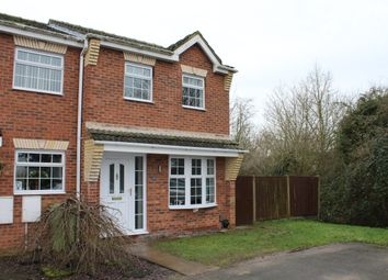 Thumbnail 3 bed town house to rent in Lingfield Close, Saxilby
