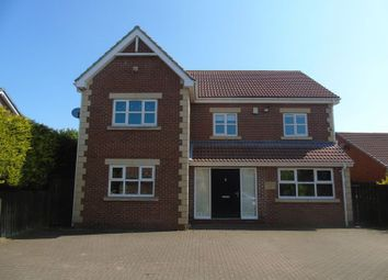 Thumbnail 5 bedroom detached house for sale in Conifer Court, Lead Road, Greenside, Ryton